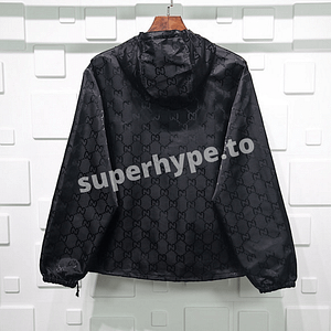 Gucci Black GG Off The Grid Jacket