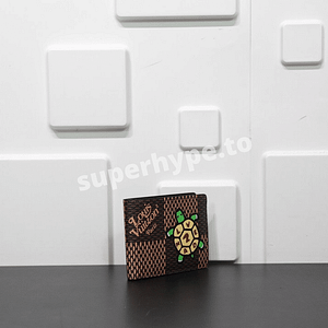 LV X Nigo Multiple Wallet Damier Ebenie Giant (Brown)