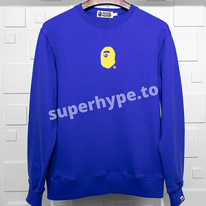 A Bathing Ape Sweatshirt (Blue)