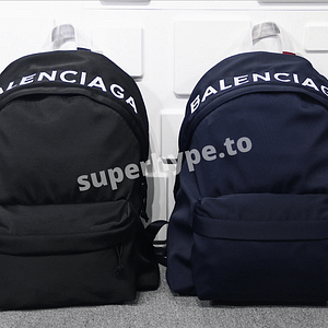 Balenciaga Men's Explorer Logo Backpack
