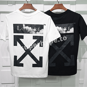 Off-White X The Louvre Museum Arrows T-shirt