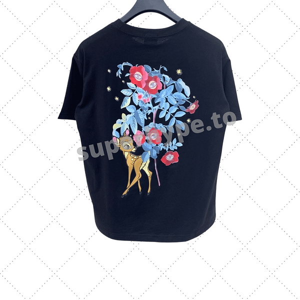 Burberry 2021 Early Spring New Sika Print T-shirt