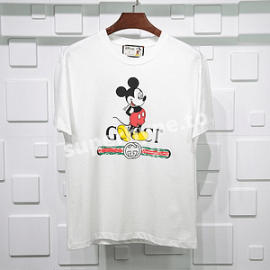 Gucci X Disney Mickey Short Sleeve Tee (White)