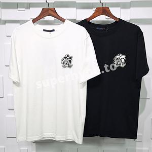 LV Smoke Printed T-shirt